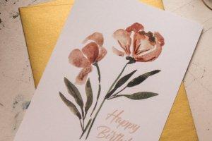 Листівка Happy Birthday - Опис