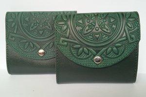Жіночий гаманець шкіряний зелений - ІНШІ РОБОТИ