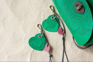 Робота Брелок серце зелений