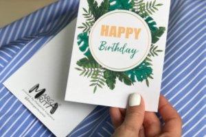 """Листівка «Happy Birthday"""" - ІНШІ РОБОТИ"""