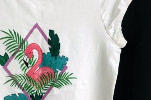 Робота Принт для футболки «Фламінго»