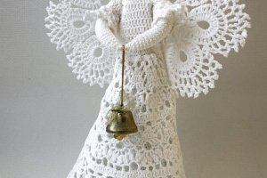 Робота Майстер клас по в'язанню інтер'єрної ляльки Ангел Берегиня