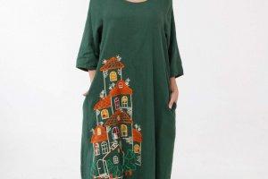 Сукня з вишивкою - ІНШІ РОБОТИ