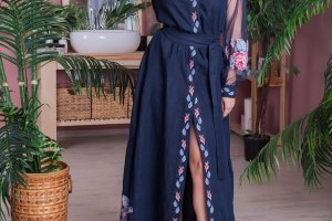 Сукня з льону - ІНШІ РОБОТИ