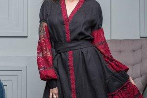 Робота Платье халат з вишивкою