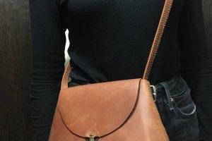 Шкіряна сумочка - Опис