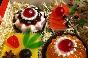Набір з мильних тістечок - ІНШІ РОБОТИ