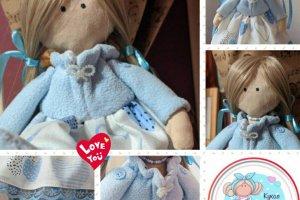 Tilda_Blue - Лялька ручної роботи - ІНШІ РОБОТИ
