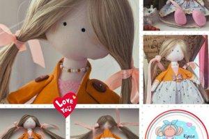 Робота Tilda_Pink - Лялька ручної роботи