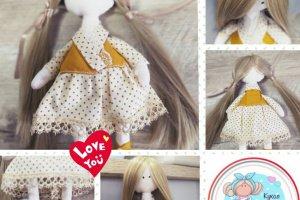 Робота Tilda_Cream - Лялька ручної роботи