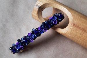 Робота Фіолетова шпилька автомат, шпилька з квітами