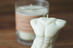 Чоловіче тіло   Соєва свічка 100% - Опис