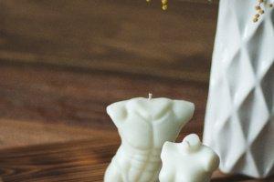 Чоловіче та жіноче тіло   Соєва свічка 100% - ІНШІ РОБОТИ