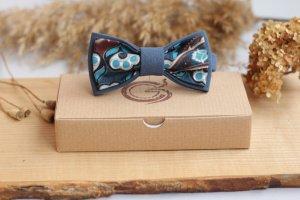 Краватка-метелик подвійна кольору  морської хвилі - ІНШІ РОБОТИ