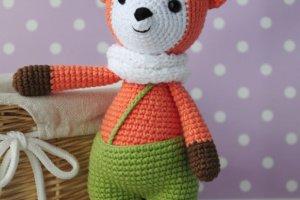 Робота Лисичка - іграшка подарунок для дитини