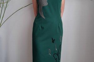Плаття - Місячна соната, вечірня сукня з ручною вишивкою - ІНШІ РОБОТИ