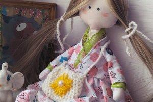 Sweet flower - Лялька ручної роботи - Опис