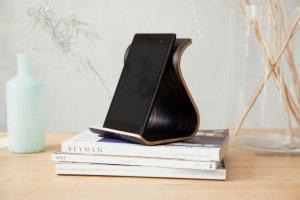 Робота Дерев'яна підставка для планшета •Sign• Ebony dark