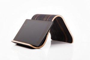 Дерев'яна підставка для планшета •Sign• Ebony dark - Опис