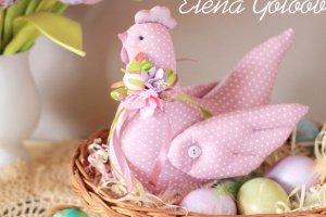 Великодня курочка Рожера в крапочку - ІНШІ РОБОТИ