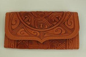 гаманець Трипілля з рижої шкіри - Опис