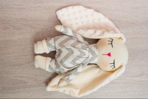 Текстильний зайчик - ІНШІ РОБОТИ