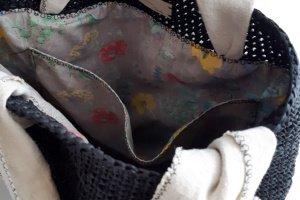 Сумочка з рафії чорна - Опис