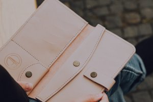 Робота Шкіряний гаманець