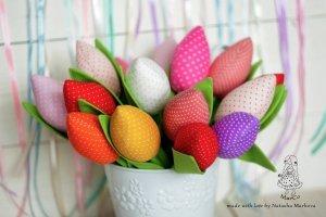 Тюльпани текстильні - Опис