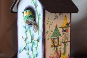 Робота Чайный домик «Весна»