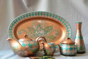 Чайный сервиз «Роспись в турецком стиле» - ІНШІ РОБОТИ