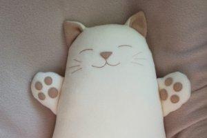 Подушка - іграшка Котик - Опис