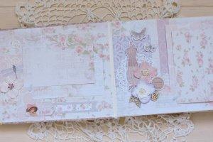 Свадебный подарок свадебный фотоальбом Шебби Шик - Опис