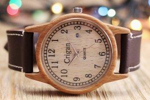 Робота Годинник з дерева, чоловічий, бук, 04AD4035BB
