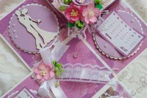 Весільна вітальна коробочка - ІНШІ РОБОТИ