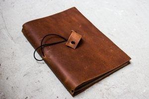 Softbook - шкіряний блокнот (коричневий) - Опис