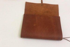 Softbook - кожаный блокнот со сменными блоками (коричневый) - Опис