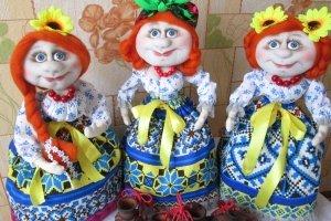 Лялька грілка на чайник тел. +380631610447