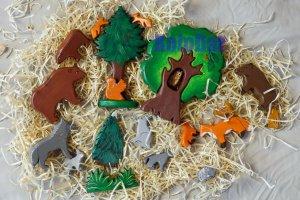Набір - Лісові звірятка