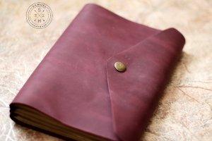 Purple softbook - шкіряний блокнот - Опис