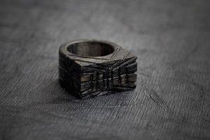 Перстень з візерунком Смужки