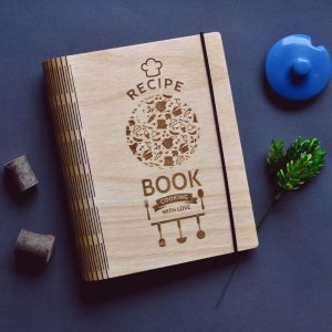"Робота Кулінарна книга ""Recipe book. Cooking with love."""