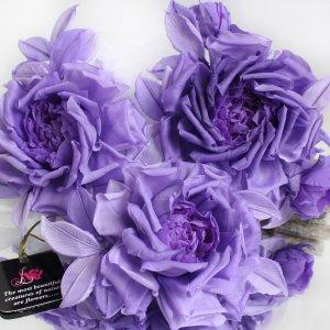 Робота Брошь роза «Королева красоты». Цветы из ткани