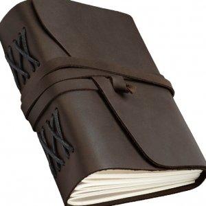 Кожаный блокнот/блокнот кожаный  для записей/софтбук