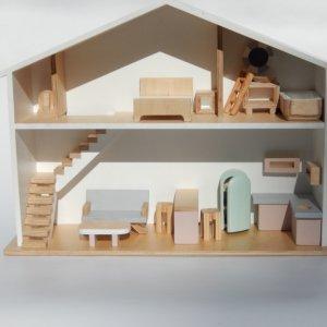 Робота Кукольный домик Ляльковий будинок