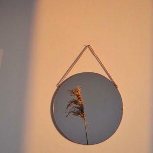 Робота Круглое зеркало на цепочке