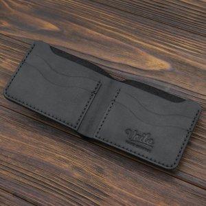 Робота Чоловік шкіряний гаманець ручної роботи VOILE mw10-blk