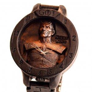 Робота Гра престолів NIGHT KING Чоловічі Дерев'яні годинник