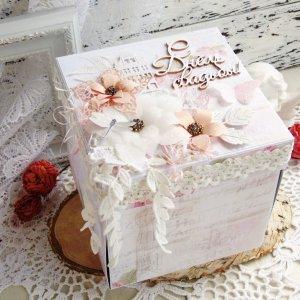 Робота Свадебный меджик-бокс или коробочка с сюрпризом