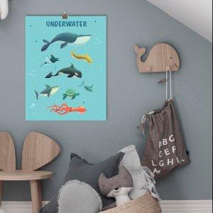 """Робота Графічний постер """"Underwater"""""""